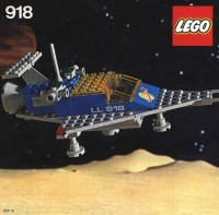 Lego Space Ship from 1980
