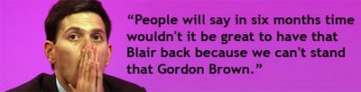 Miliband on Brown in 2007