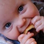 Reuben eating pizza!
