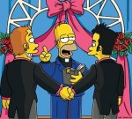 Gay Marriage Simpsons Style!