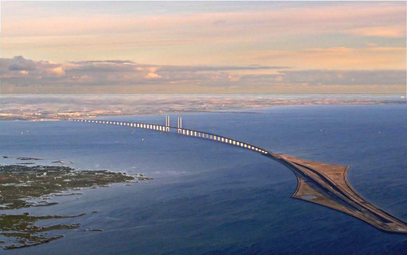 Another View of the Oeresund Bridge - Stunning!