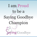Saying Goodbye Champion