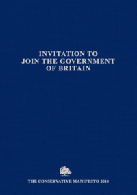 Conservative Manifesto 2010